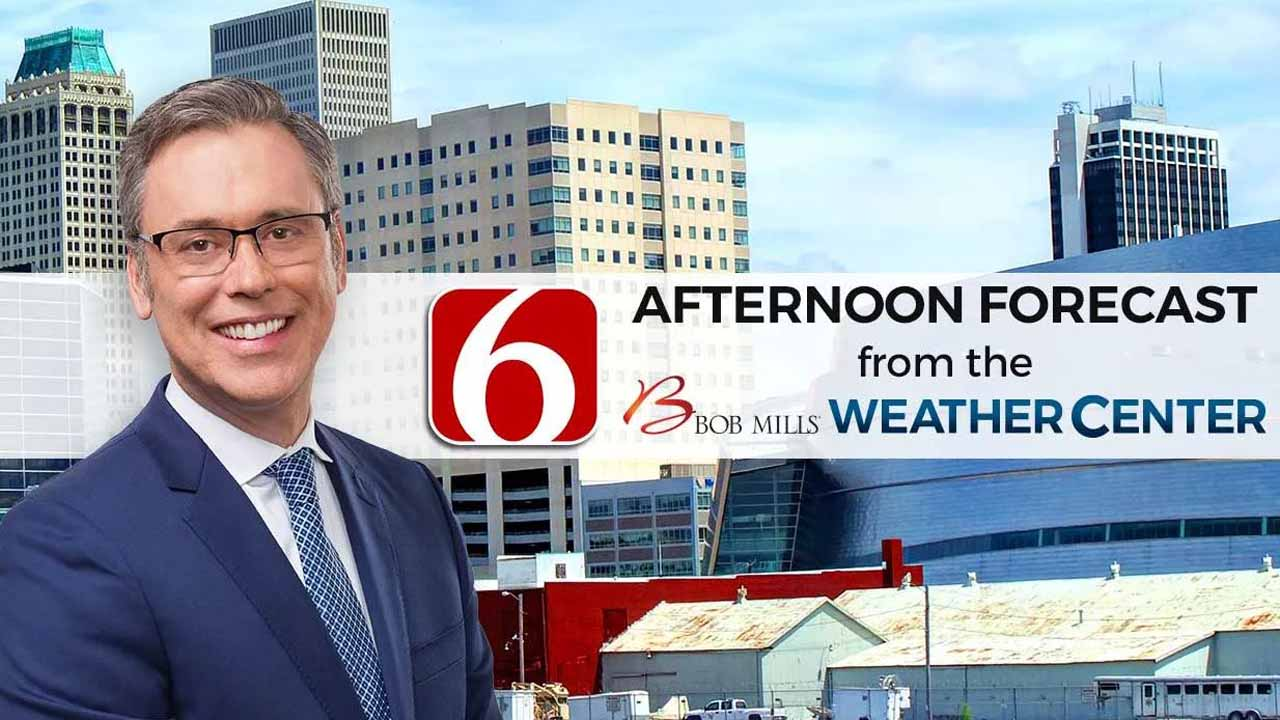 Afternoon Forecast With Alan Crone