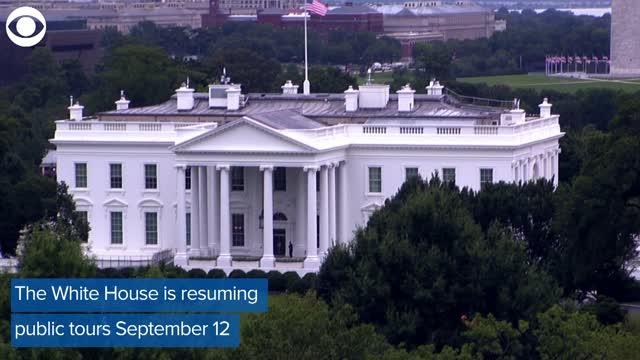 White House Public Tours To Resume