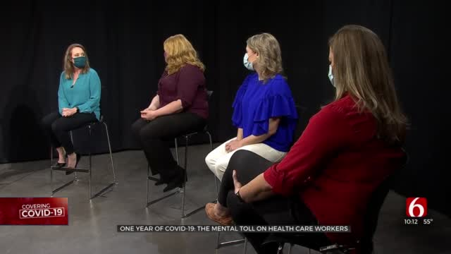 One Year Later: COVID-19's Mental Toll On Healthcare Workers