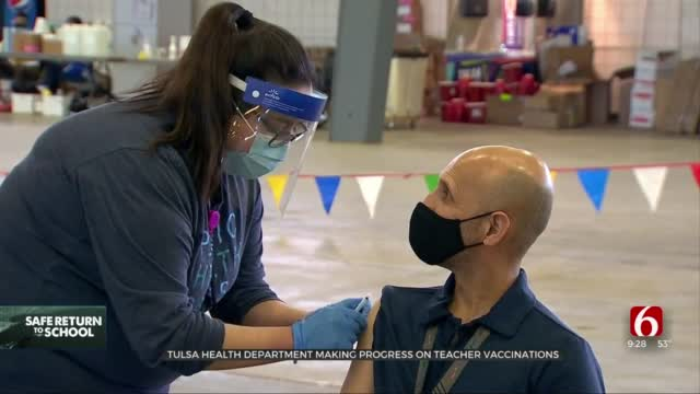 THD On Track To Vaccinate Every Tulsa County Educator By Spring Break