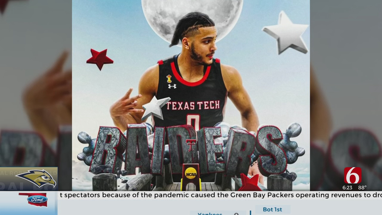 Former ORU Forward Kevin Obanor Commits To Texas Tech
