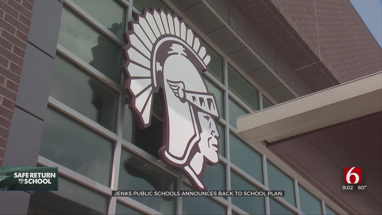 Jenks Public Schools Announces Back To School Plan