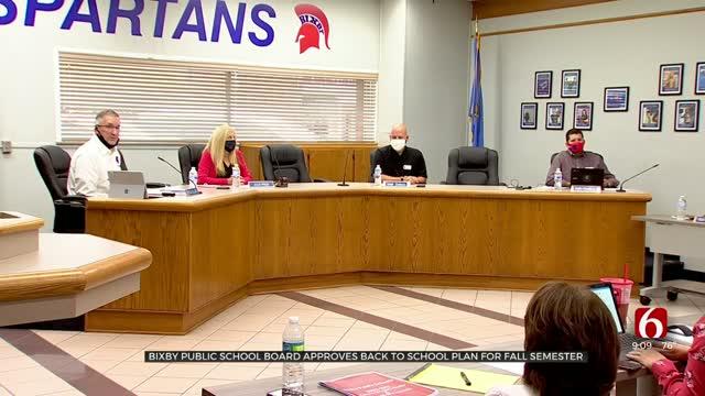 Bixby Public School Board Approves Plan For Fall Semester