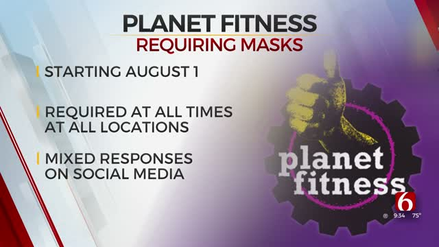 Planet Fitness Mandates Masks In Its Gyms Nationwide
