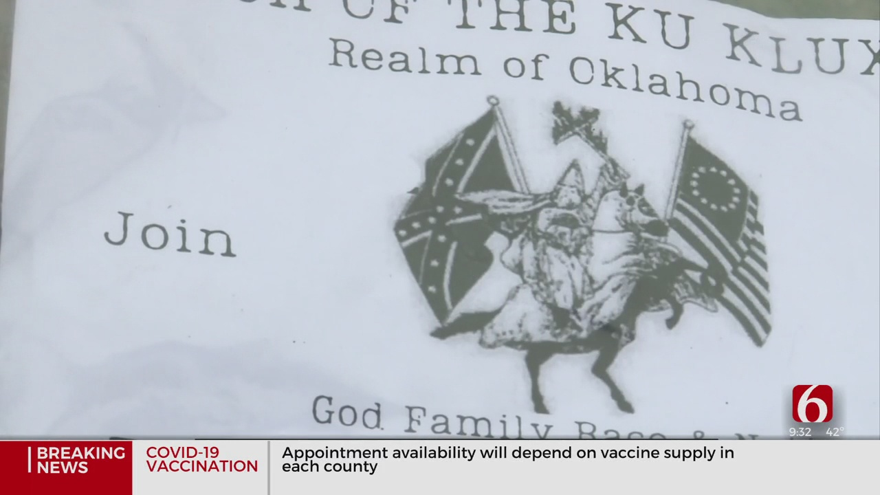 Dozens Of Ku Klux Klan Recruitment Flyers Found At Homes In Marietta