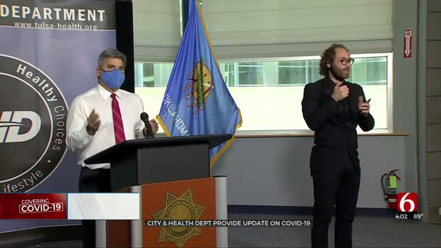 City, Health Dept. Leaders Give COVID-19 Update, Urge Tulsans To 'Stay Vigilant'