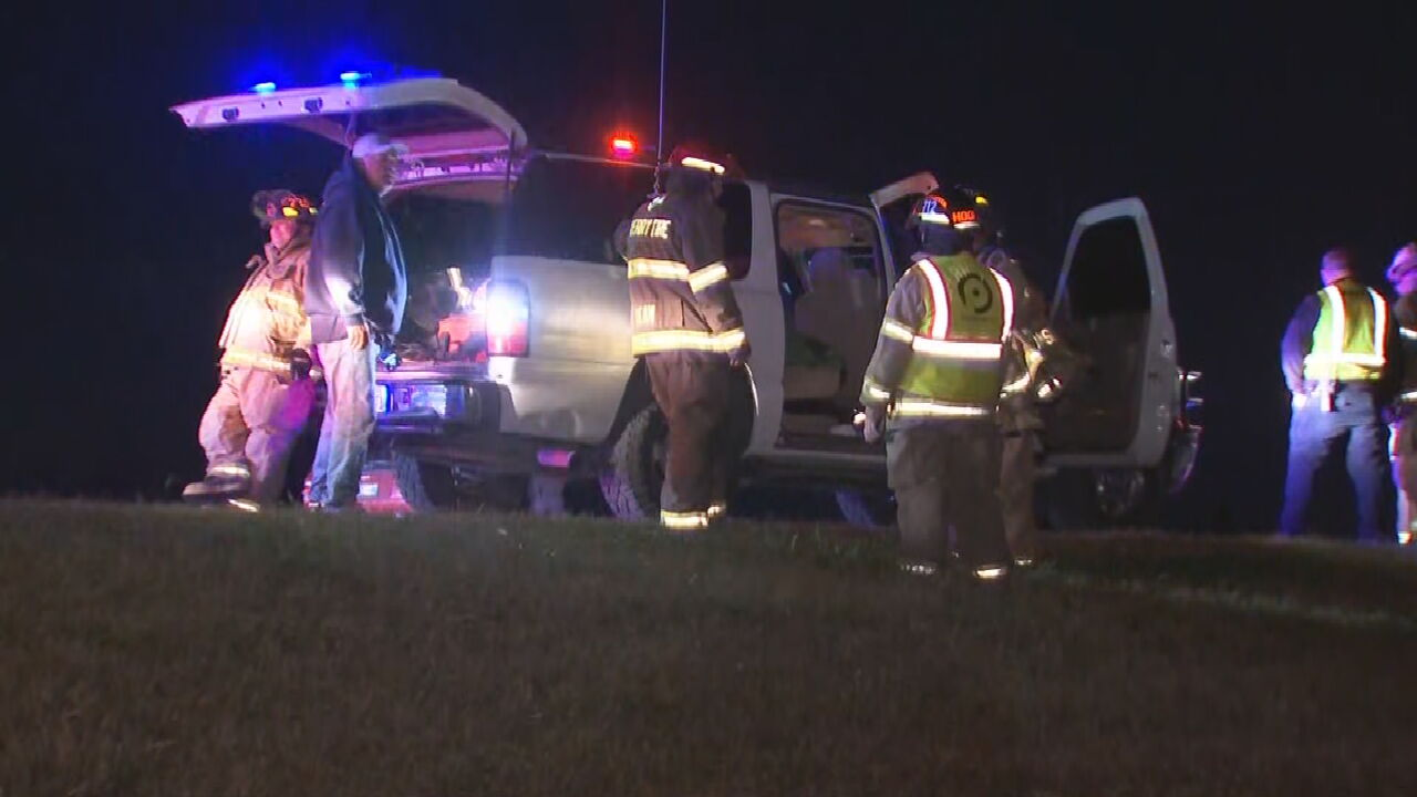 Two Hospitalized After Crash On Highway 75 Near Sperry