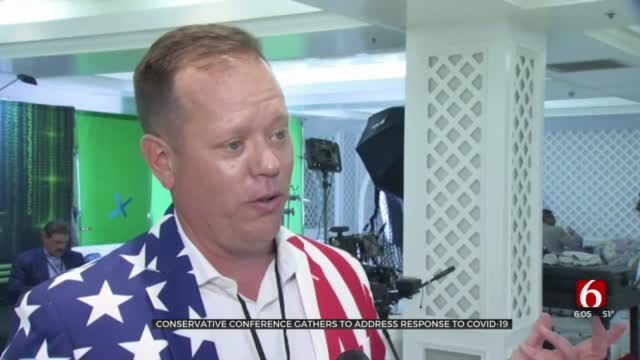 Conservative Conference Held In Broken Arrow To Address COVID-19 Response News On 6