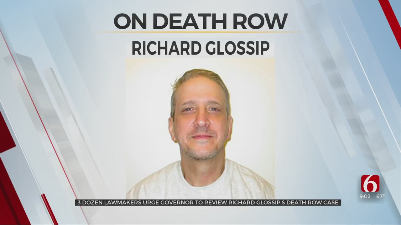 More Than 35 Lawmakers Urge Governor To Review Richard Glossip's Death Row Case