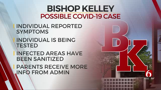 Health Dept Starts Contact Tracing After Possible COVID-19 Case At Bishop Kelley