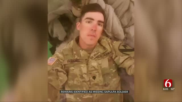 Update: Human Remains Found Identified As Missing Oklahoma Soldier, Family Speaks