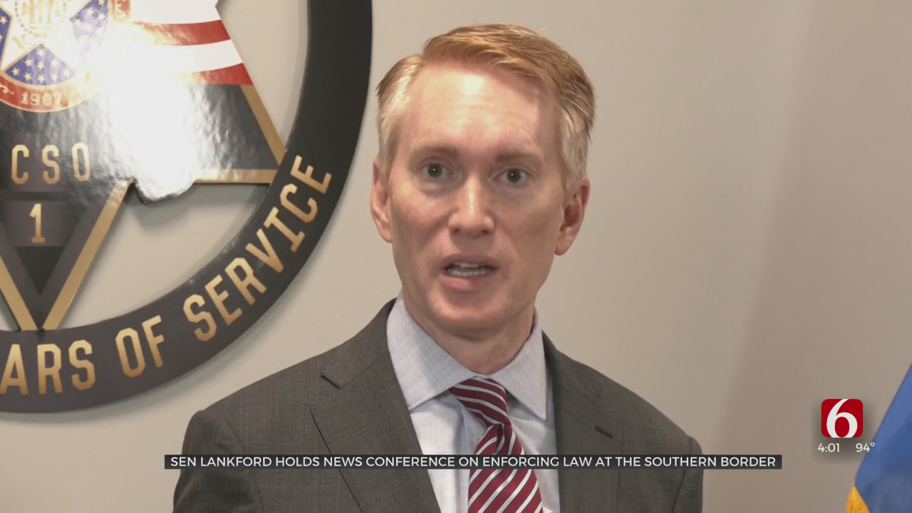 Sen. Lankford Discusses Concerns About US-Mexico Border