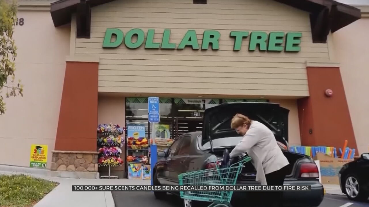Dollar Tree Issues Recall For 100,000 Candles Due To Safety Risk