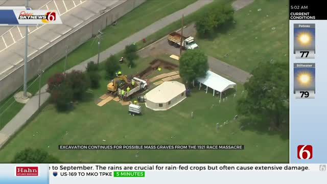 Crew Optimistic For 5th Day Of Mass Graves Search In Tulsa