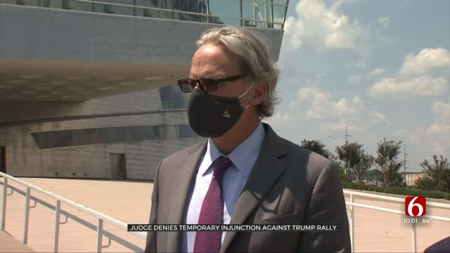Lawsuit Seeking CDC-Recommended Precautions At President's Tulsa Rally Denied