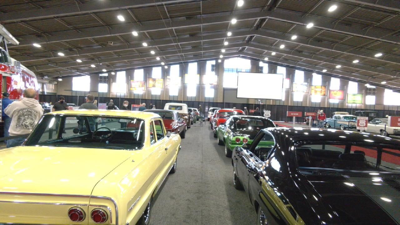 Last Day Of The Tulsa Auto Show Underway