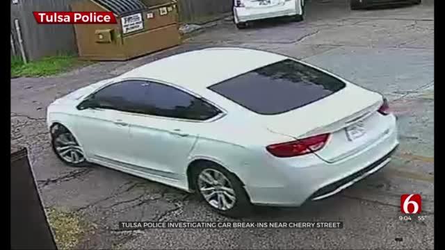 Tulsa Police Investigate Car Break-Ins Near Cherry Street