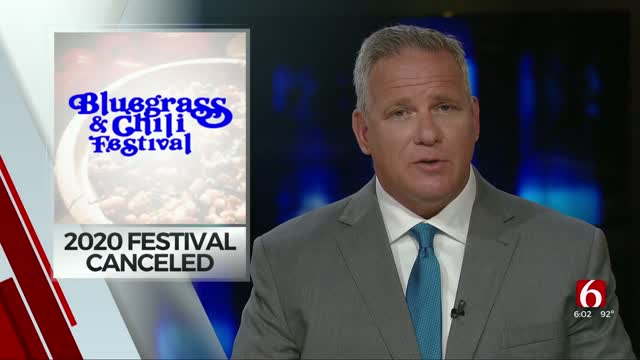 41st Annual Bluegrass & Chili Festival In Wagoner Canceled