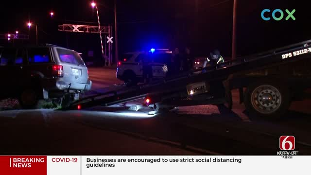 Tulsa Police: 1 Arrested Following Overnight High Speed Chase
