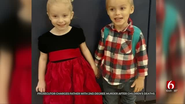 Prosecutor Charges Father With Second-Degree Murder After Children's Deaths
