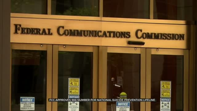 FCC Approves 988 Number As National Suicide Prevention Line