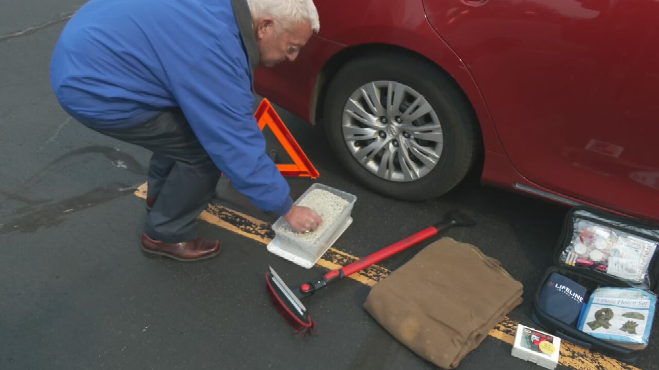 AAA Offers Road Safety Tips For Winter Weather Conditons