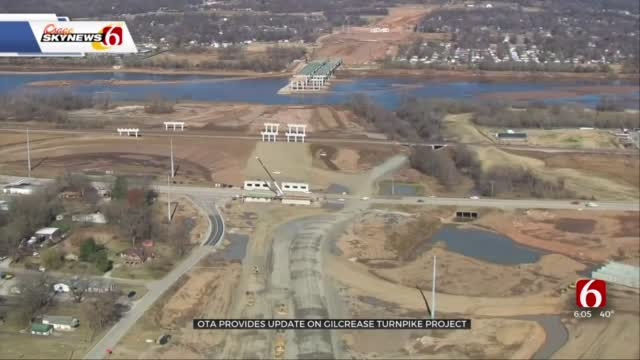 OTA Provides Update On Gilcrease Turnpike Project Progress
