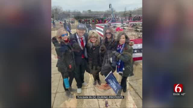 Tulsans In Washington DC During Protest Recount Experience