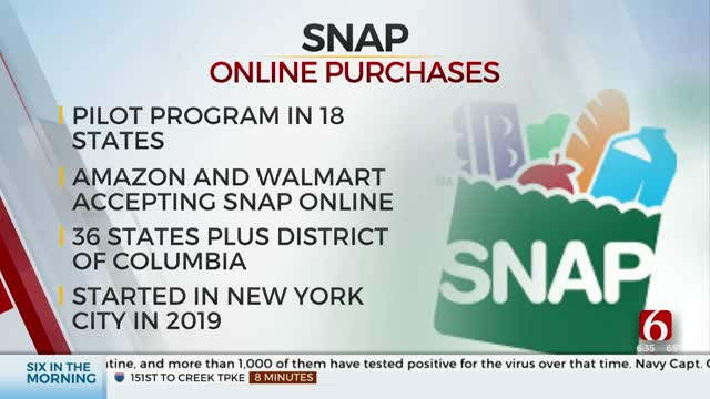 Oklahomans Will Soon Be Able To Use SNAP Benefits For Online Grocery Purchases