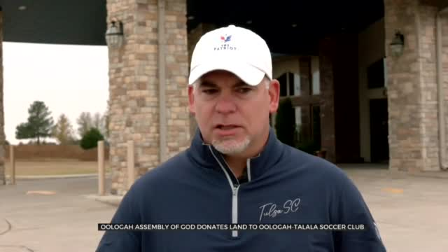 Oologah Assembly of God Donates Land To Help Soccer Club
