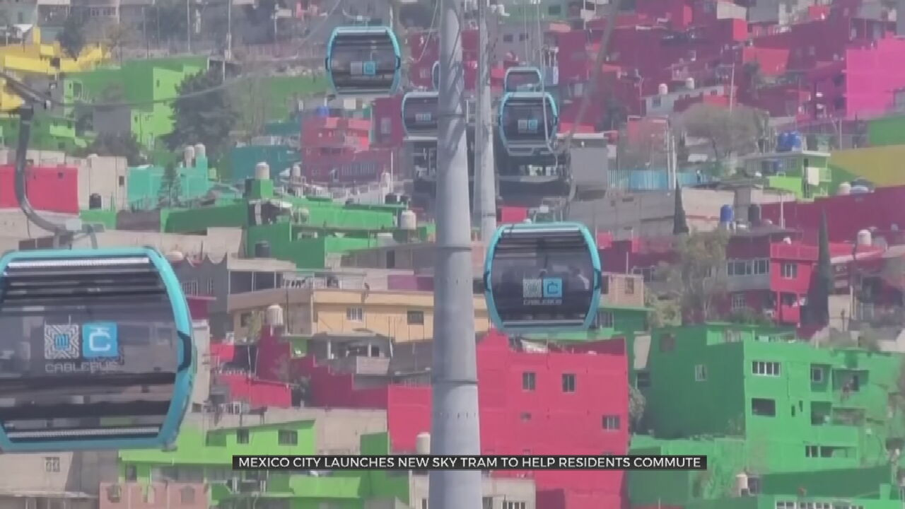 Mexico City Launches Latin America's Latest Cable Car Line