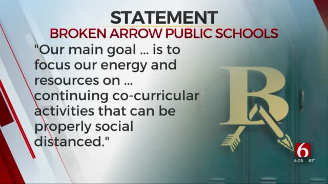 Broken Arrow Public Schools Cancels Homecoming Parade For 2020 School Year