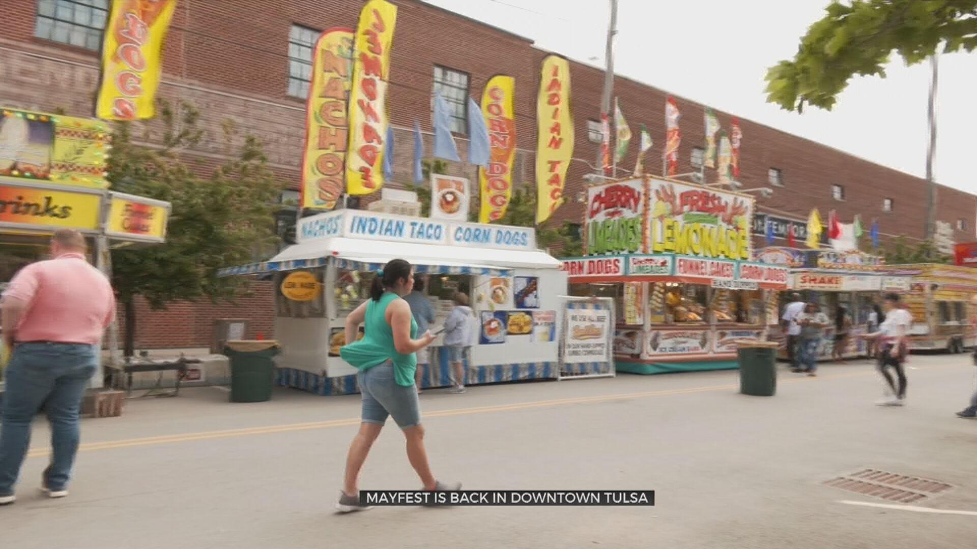 Mayfest Brings Food, Music & Fun To Downtown Tulsa