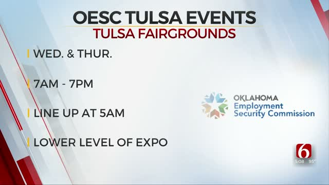 OESC Hosts Event To Aid In Processing Claims In Tulsa Wednesday, Thursday