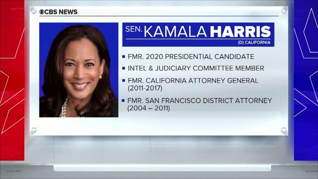 Watch: Facts About Sen. Kamala Harris, Former Vice President Biden's VP Running Mate