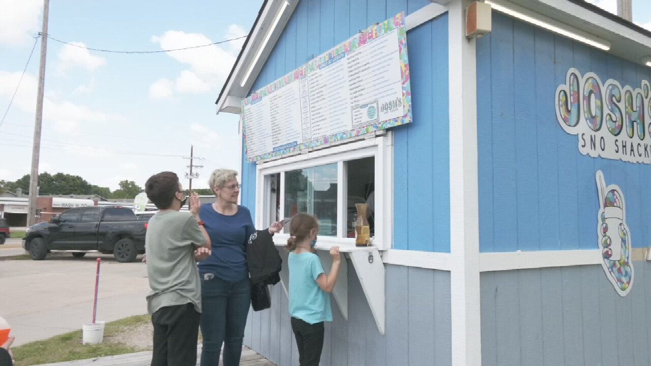 Snow Cone Stands Can Now Stay Open Year Round