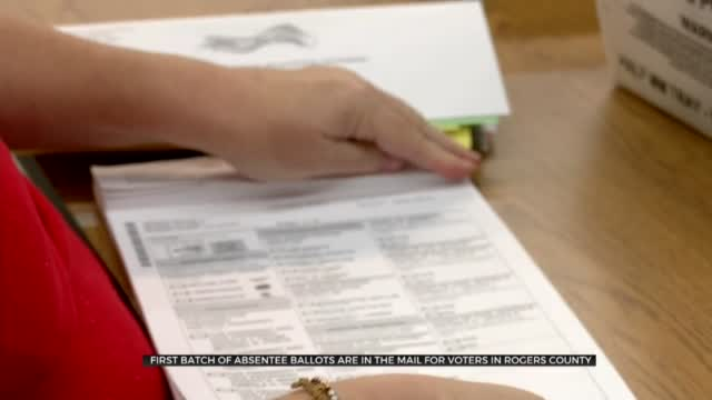 First Batch Of Absentee Ballots Sent To Rogers County Voters