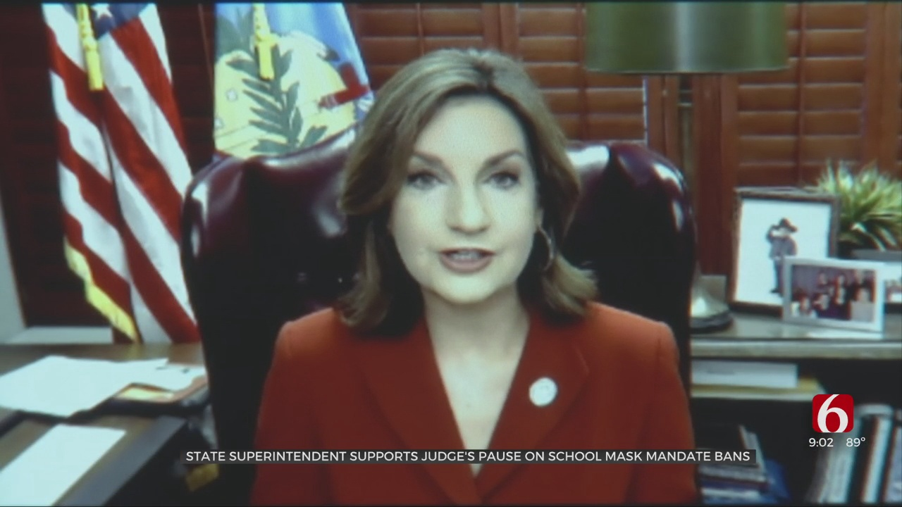 State Superintendent Supports Judge's Pause On School Mask Mandate Bans