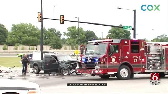 Tulsa Police Investigate Deadly Crash In Tulsa