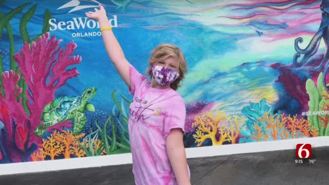 WATCH: 11-Year-Old Faith Cowherd On Her Trip Of A Lifetime In Orlando