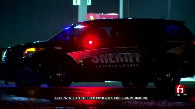 OSBI Investigating First Officer-Involved Shooting In Wilburton In 21 Years