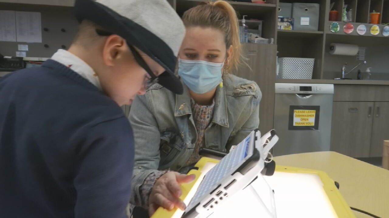 Tulsa School Helps Students With Learning Differences During The Pandemic