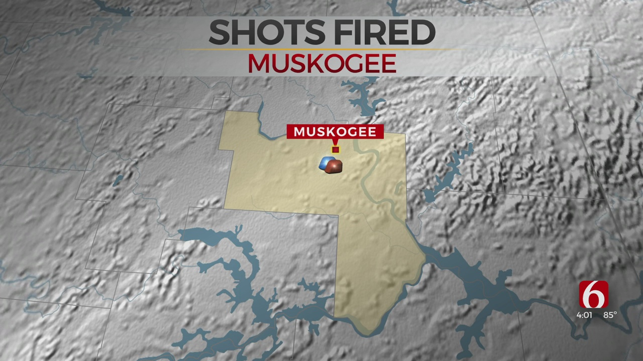 Shots Fired Near Muskogee Gas Station; Police Searching For Suspect