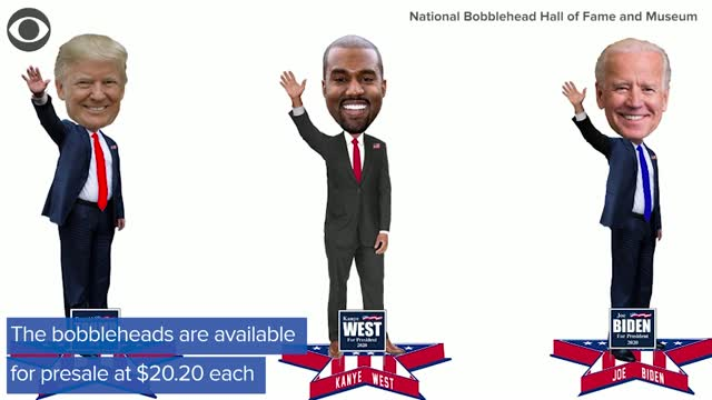 The National Bobblehead Hall of Fame and Museum unveils 2020 Presidential Candidate Bobbleheads