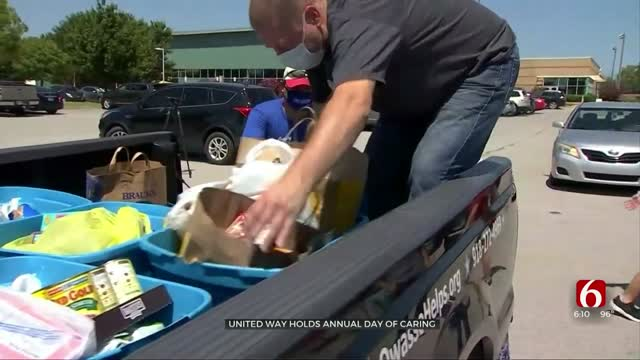 Tulsa Area United Way Collects Several Tons Of Food From Day Of Caring