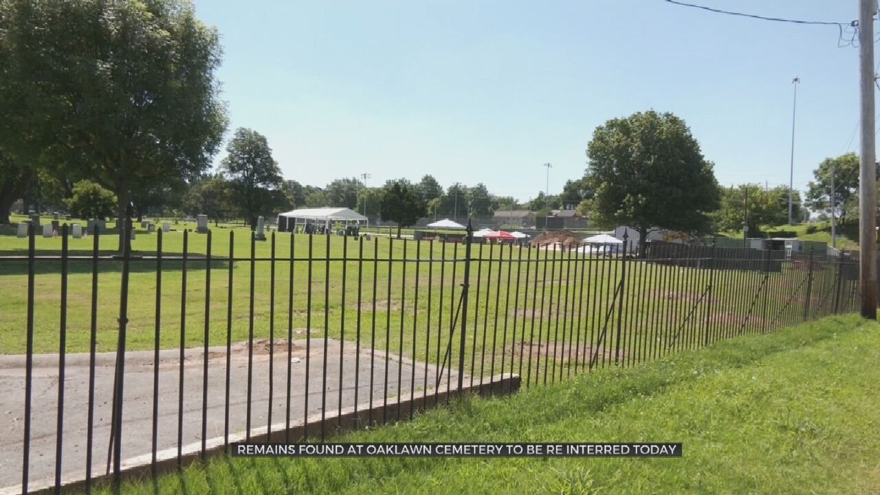 City Of Tulsa To Reinter Remains Of 19 People Found In Mass Grave At Oaklawn Cemetery