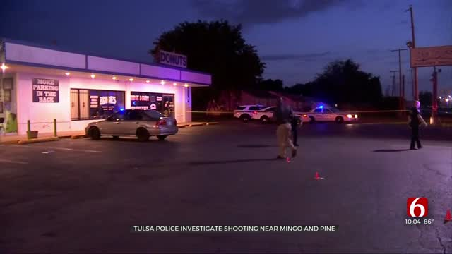 Tulsa Police Responding To Shooting Near Pine, Mingo