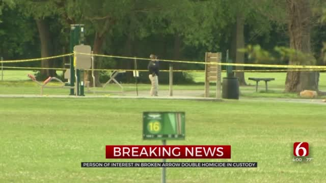 Person Of Interest In Broken Arrow Double Murder In Custody