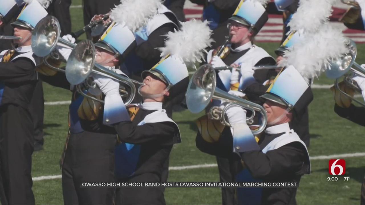 Owasso High School Band Hosts Owasso Invitational Marching Contest
