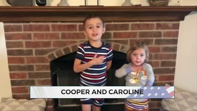 Daily Pledge: Cooper & Caroline